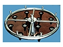 Aros en acero inoxidable AISI 316, en una pieza o modulares