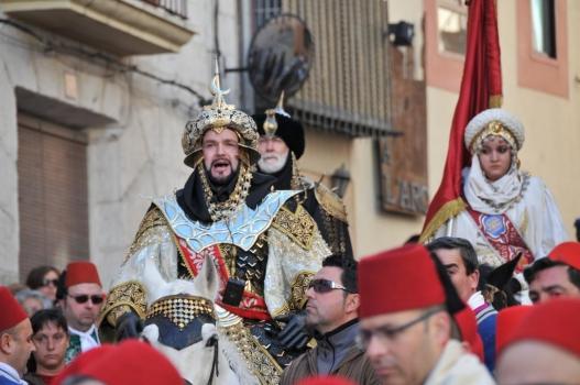 Las primeras fiestas de Moros y Cristianos del año, las de Bocairent