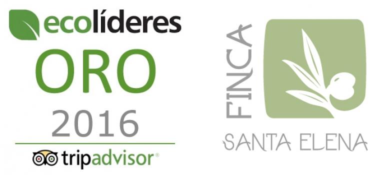 Finca Santa Elena ha obtenido el nivel de Oro en el programa EcoLíderes de TripAdvisor
