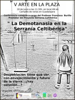"""Conferencia-coloquio """"La demotanasia en la Serranía Celtibérica"""""""