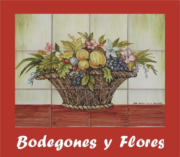 murales decorativos bodegones y flores de oferta