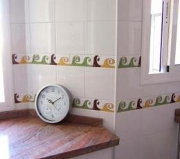 Cenefas de ceramica pintadas a mano