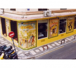 fachada,azulejo,mural,ceramica