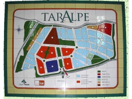Plano de azulejos de cerámica para urbanización