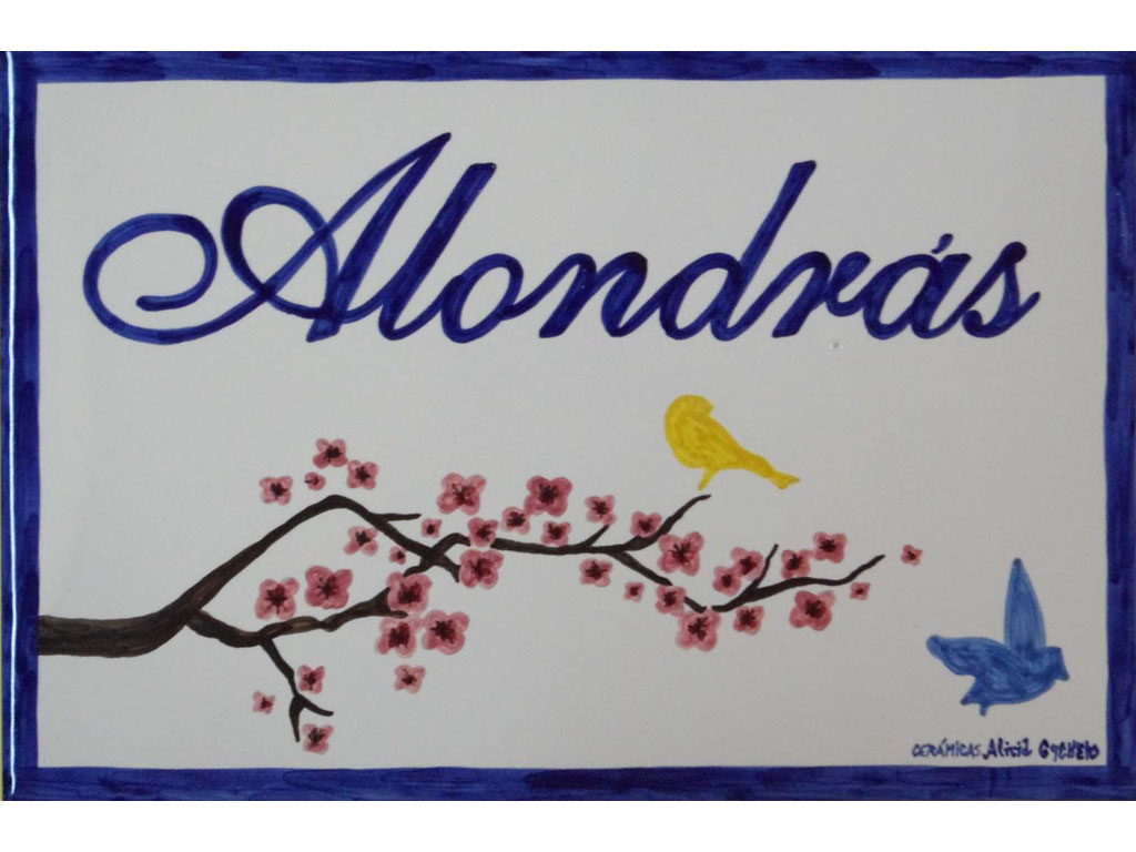 Azulejo Alondrás