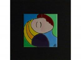 Azulejo de cerámica Museo Picasso Málaga