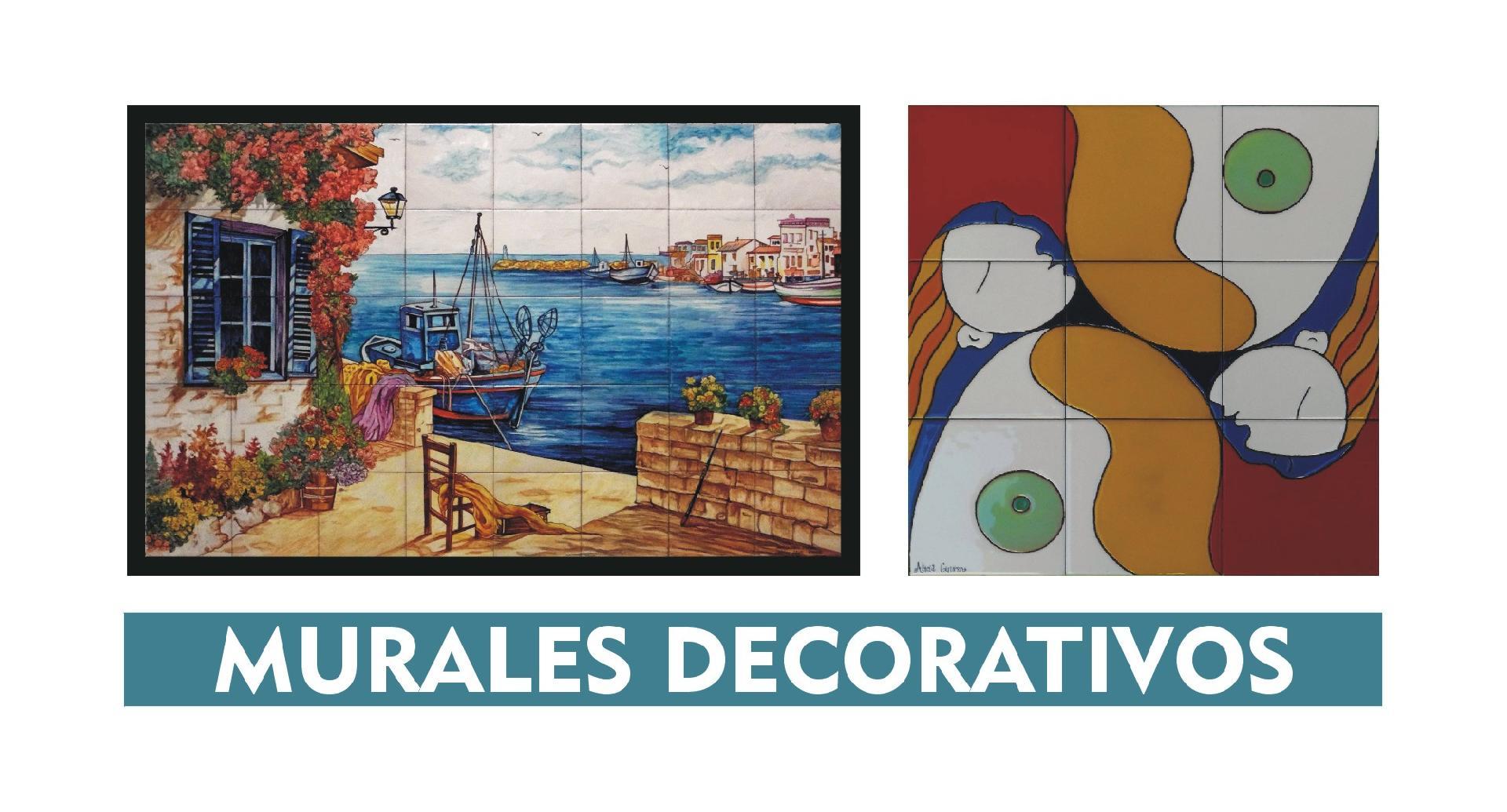 Murales decorativos de ceramica