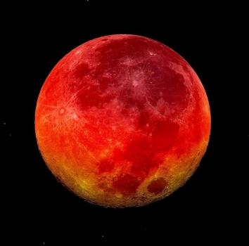 La noche del 27 de septiembre veremos un eclipse total de luna desde Finca San Agustín