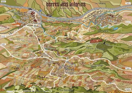 Tierra de Vinos: Els Alforins