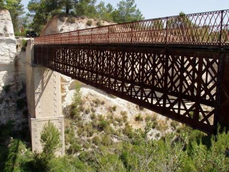 """El puente de Hierro la """"Lloma Rasa"""""""