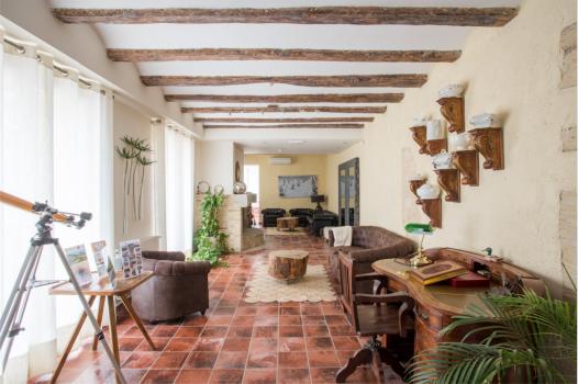 Arquitectura y decoración natural unidos en Finca San Agustín