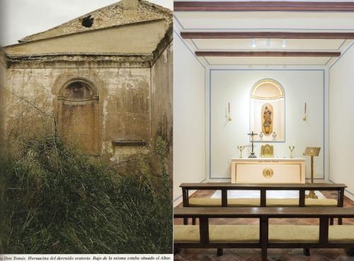 La capilla privada de la Finca San Agustín