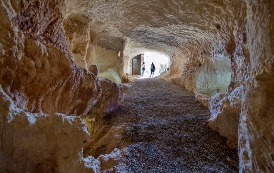 El convento subterráneo de Bocairent