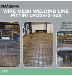 Mesh welding line PITTINI LRD 24/2-408