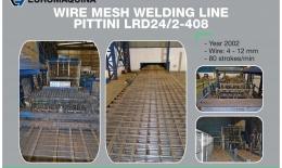 PITTINI Mesh welding line LRD 24/2-408