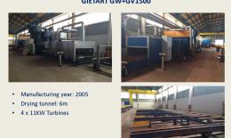 GIETART Línea Granallado y Pintura GW + GV1500