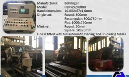 BEHRINGER Línea Corte HBP-650/800
