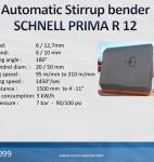 3099 Automatic Stirrup Bender SCHNELL PRIMA R 12