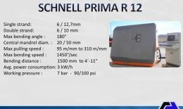 SCHNELL Automatic Stirrup Bender PRIMA R 12