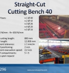 MEP Straight-Cut Cutting Bench 40