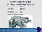 3301 Multifunction Center SCHNELL Bar Wiser 26...