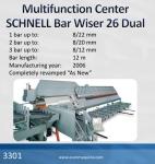 Centro Multifuncional SCHNELL Bar Wiser 26 Dual