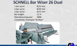 SCHNELL Multifunction Center Bar Wiser 26 Dual