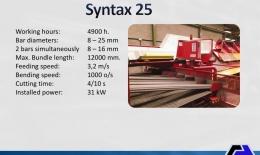 MEP Multifunction Center Syntax 25