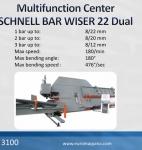 Centro Multifuncional SCHNELL Bar Wiser 22 Dual