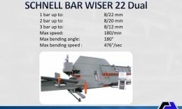 SCHNELL Multifunction Center Bar Wiser 22 Dual