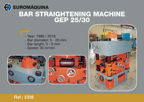 2338 Straightener GABANDE GP25