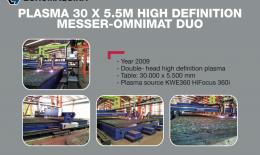 MESSER Corte Plasma OMNIMAT DUO 30x5.5M HD