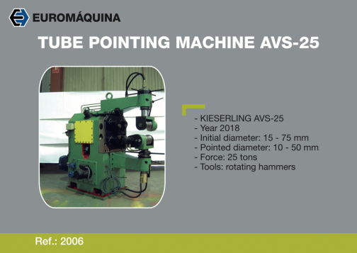 2006 Pointing Machine KIESERLING AVS25