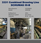 Combined Drawing Line SCHUMAG IIIB