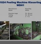 Descortezadora Kieserling WDH1