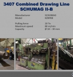 Combined Drawing Line SCHUMAG IIB