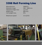 Roll Forming Line DIMECO