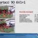 CARTACCI Tube Straightener 6V1+1 90x5