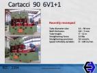 2394 Tube Straightener Cartacci 6V1+1 90x5