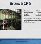Tube straightener Bronx 6 CR 8