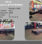 BYSTRONIC Tandem Press Brake 2x 650Tn x 7m