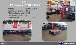 BYSTRONIC Prensa Plegadora Tándem 2x650Tnx7m