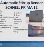 2969 Automatic Stirrup Bender SCHNELL PRIMA 12