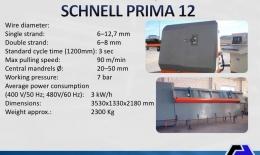 SCHNELL Automatic Stirrup Bender PRIMA 12