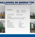 GRANALLADORA DE BARRAS