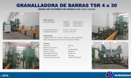 TSR Granalladora de barras 4x30