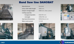 DANOBAT Band Saw