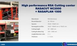 RSA Centro de corte RASACUT NC2000