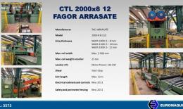 FAGOR - ARRASATE CTL 2000x8 12