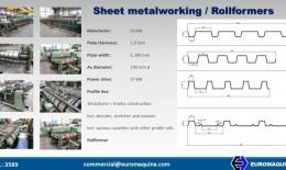 Sheet metalworking Rollformers